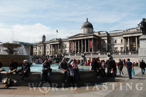 National Gallery @ Trafalgar Square, London