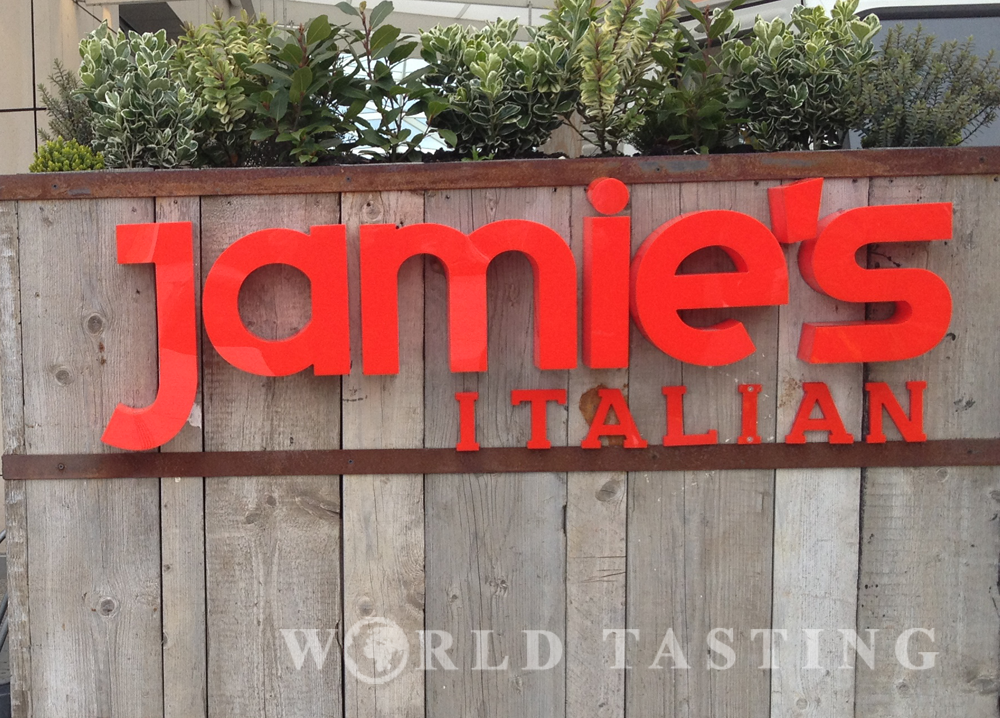 Jamie's Italian in Westfields, London