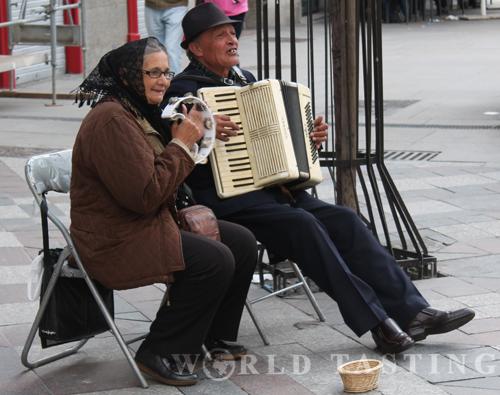 Street musicians @ Madrid