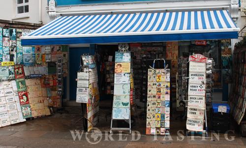 Cute shop @ Portobello market, London