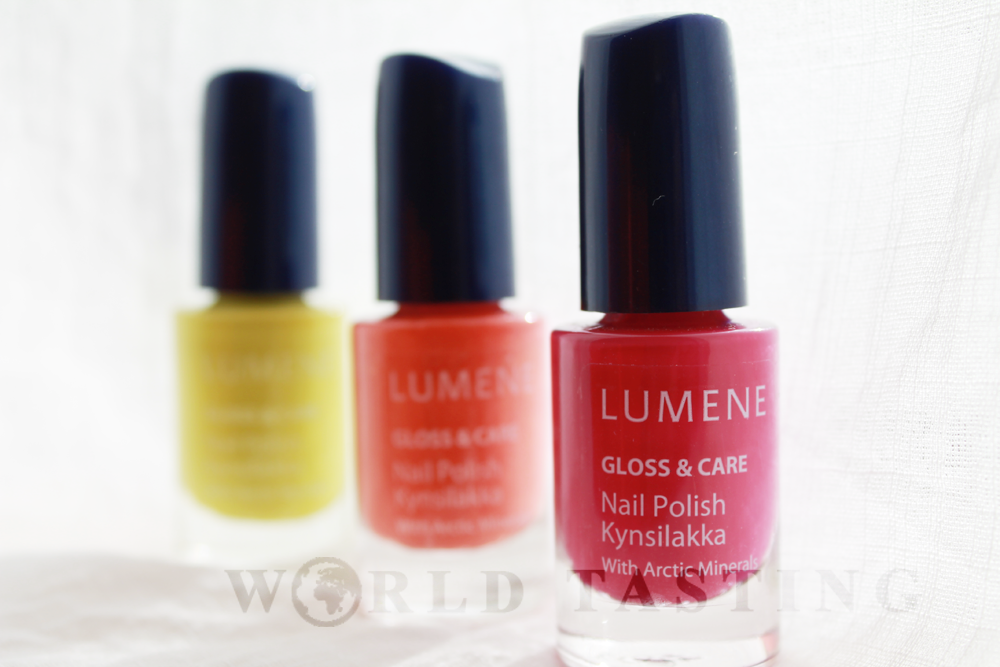 lumene gloss care nail polish