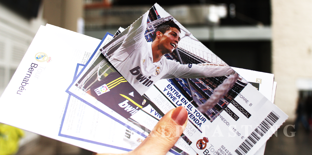 Tickets for the Santiago Bernabéu Tour @ Madrid