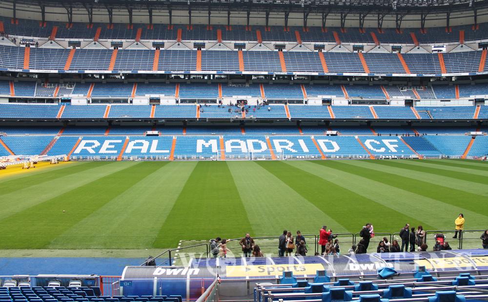 Santiago Bernabéu Stadium @ Madrid