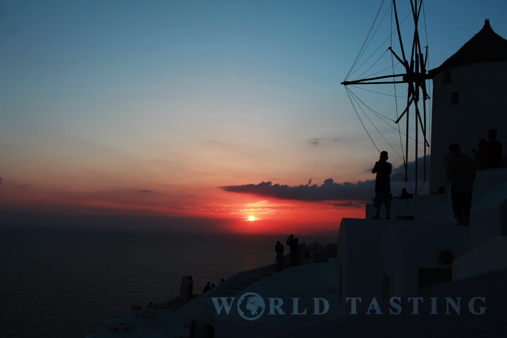 Nothing compares to a sunset in Oia, Santorini
