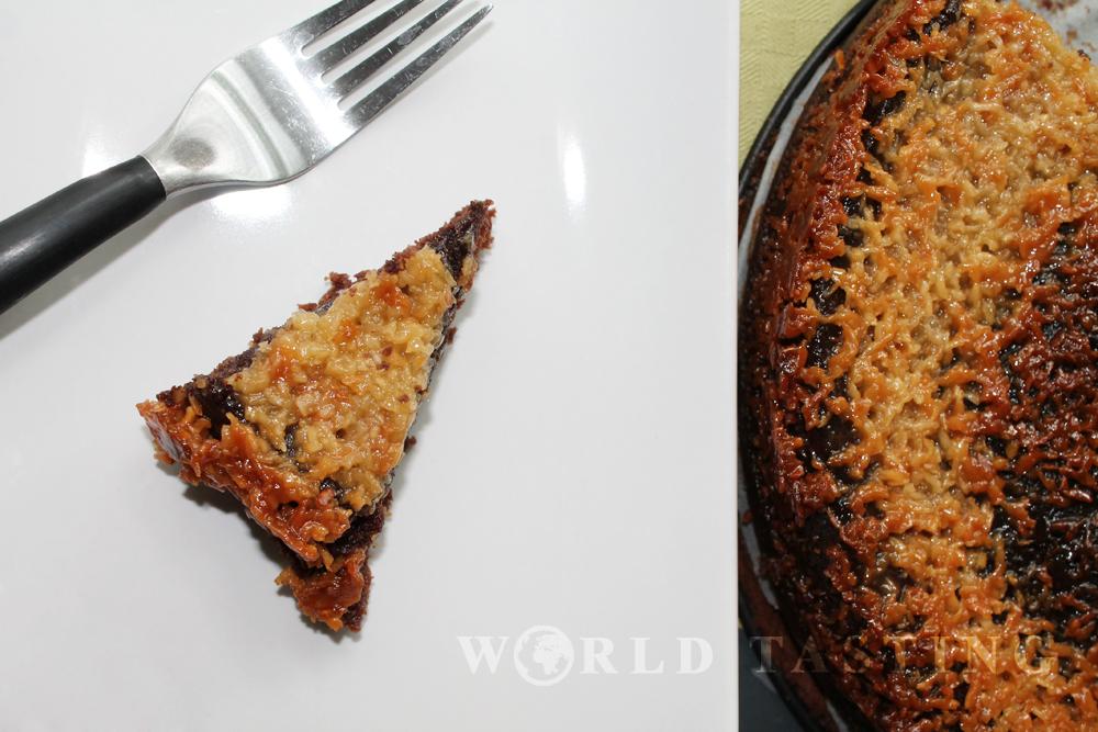 Chocolate & coconut cake (kokostoscakaka)