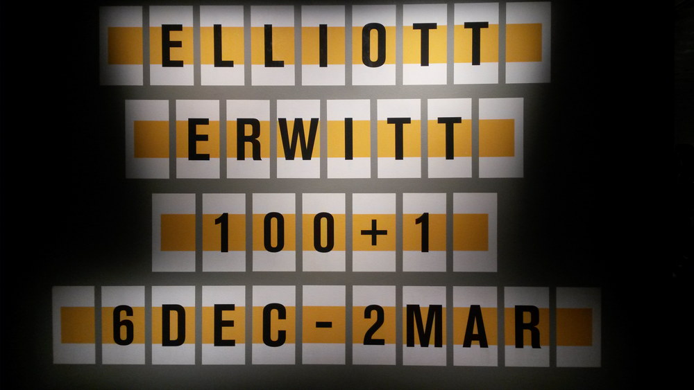 Elliott Erwitt in Fotografiska Museet Stockholm