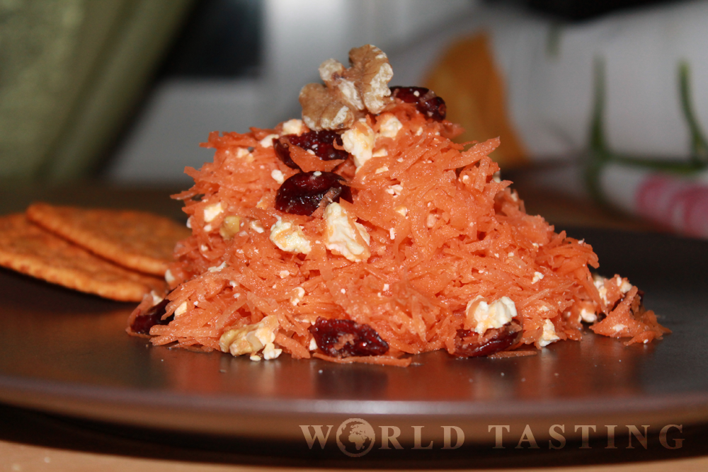 Carrot Salad Recipe - WorldTasting