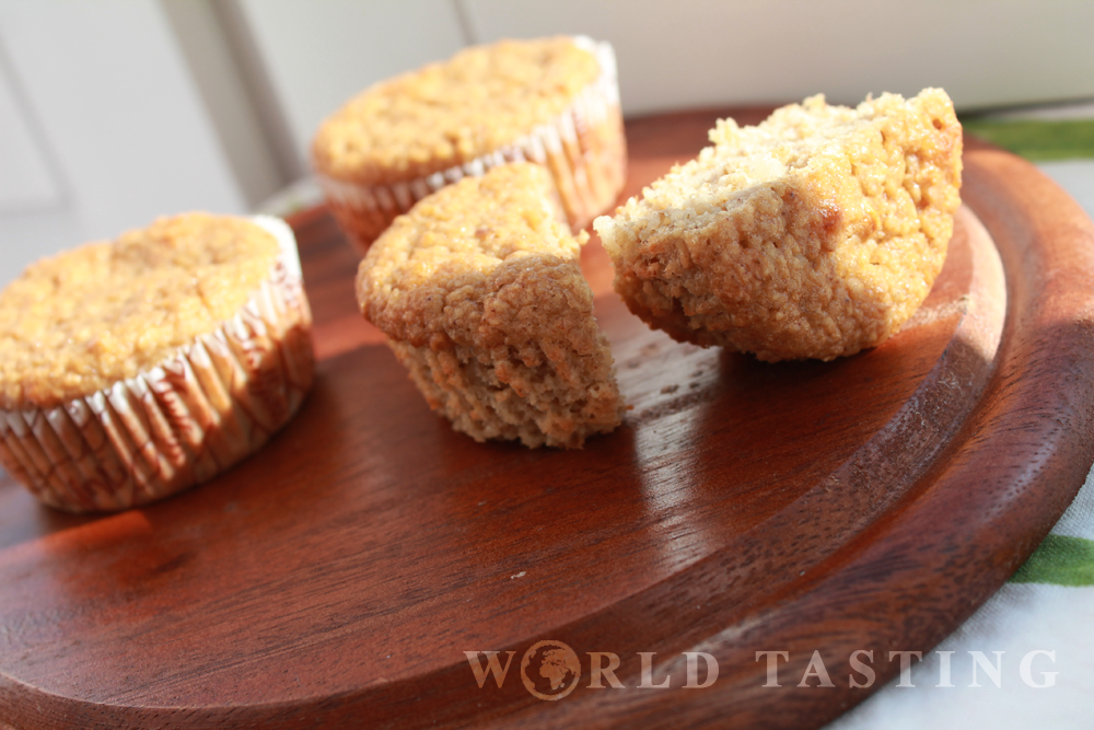 Healthy Oatmeal Banana Muffins Recipe