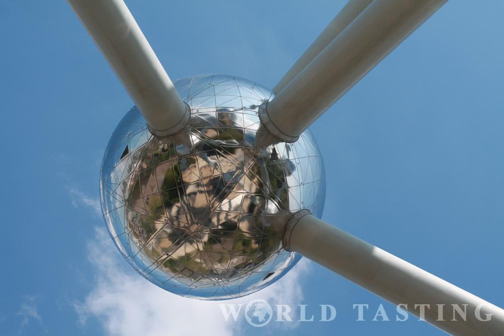 The Atomium in Brussels