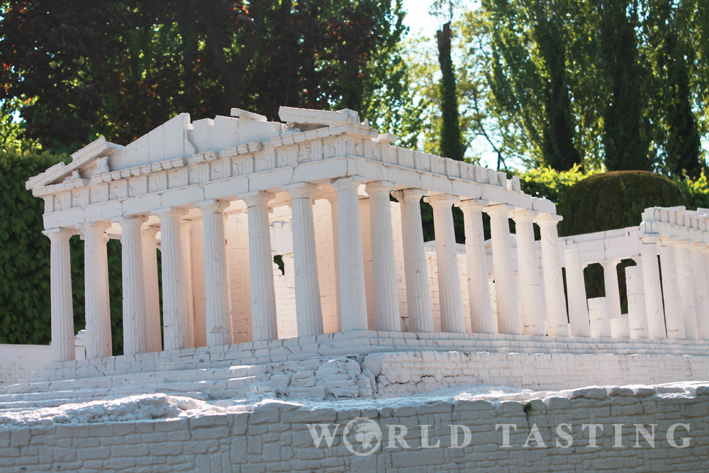 Acropolis of Athens - Mini Europe - Brussels