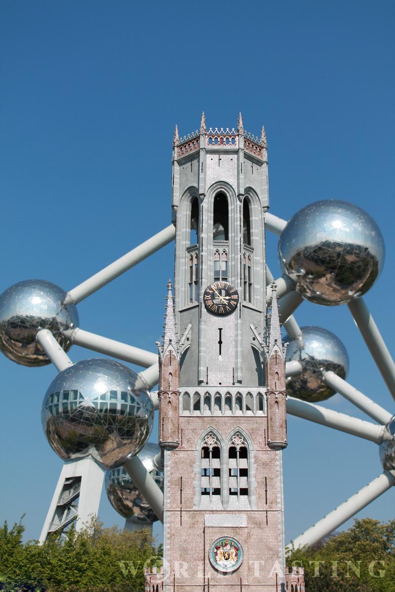 Brugge belfry - Mini Europe - Brussels