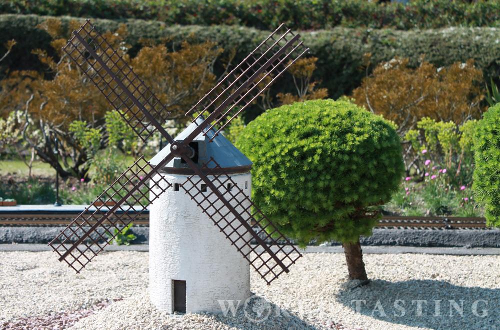 Seville windmill - Mini Europe - Brussels