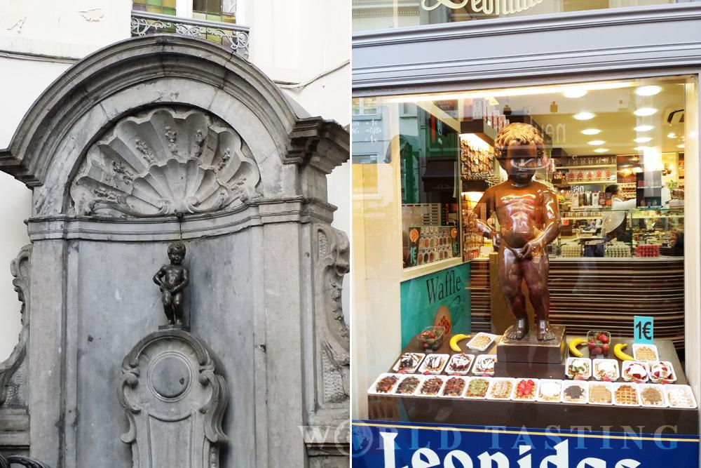 Manneken Pis - Brussels / Bruxelles- WorldTasting