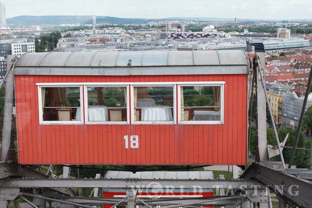 Ferris wheel, Wiener Riesenrad, Prater, Vienna