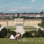 Schönbrunn Palace - view from the Gloriette - Vienna