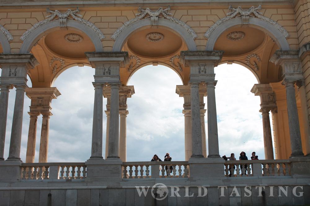 Gloriette detail - Schönbrunn Palace - Vienna