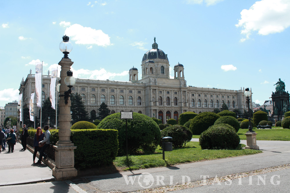 Naturhistorische museum Museumplatz Vienna