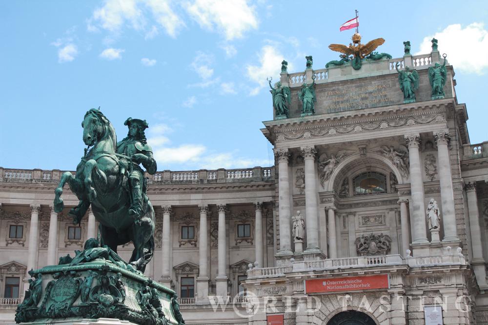 Vienna Library Hofburg
