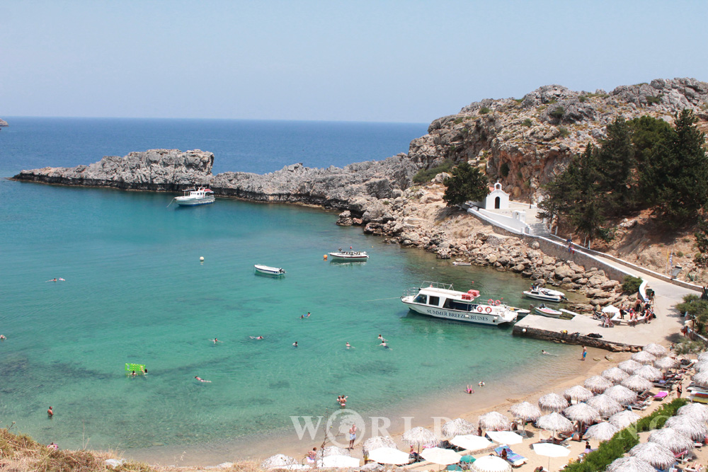 A day trip to Lindos, Rhodes / Rodos, Greece