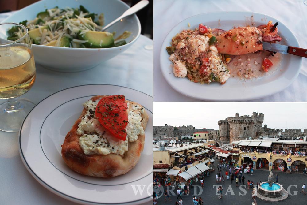 Restaurant Archipelagos Rhodes Old Town