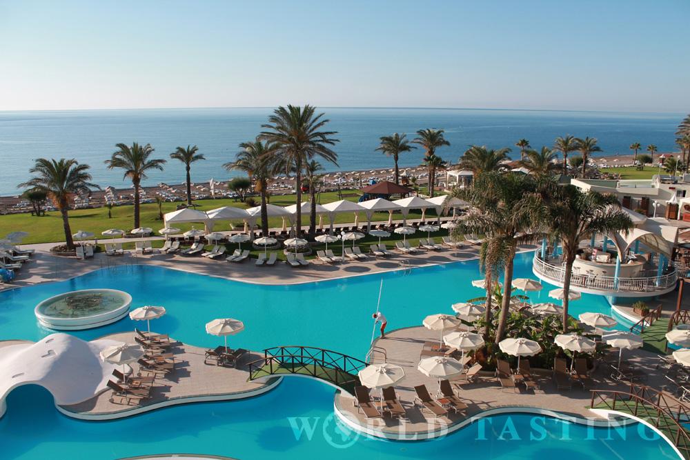 Rodos Palladium Hotel, Rhodes, Greece