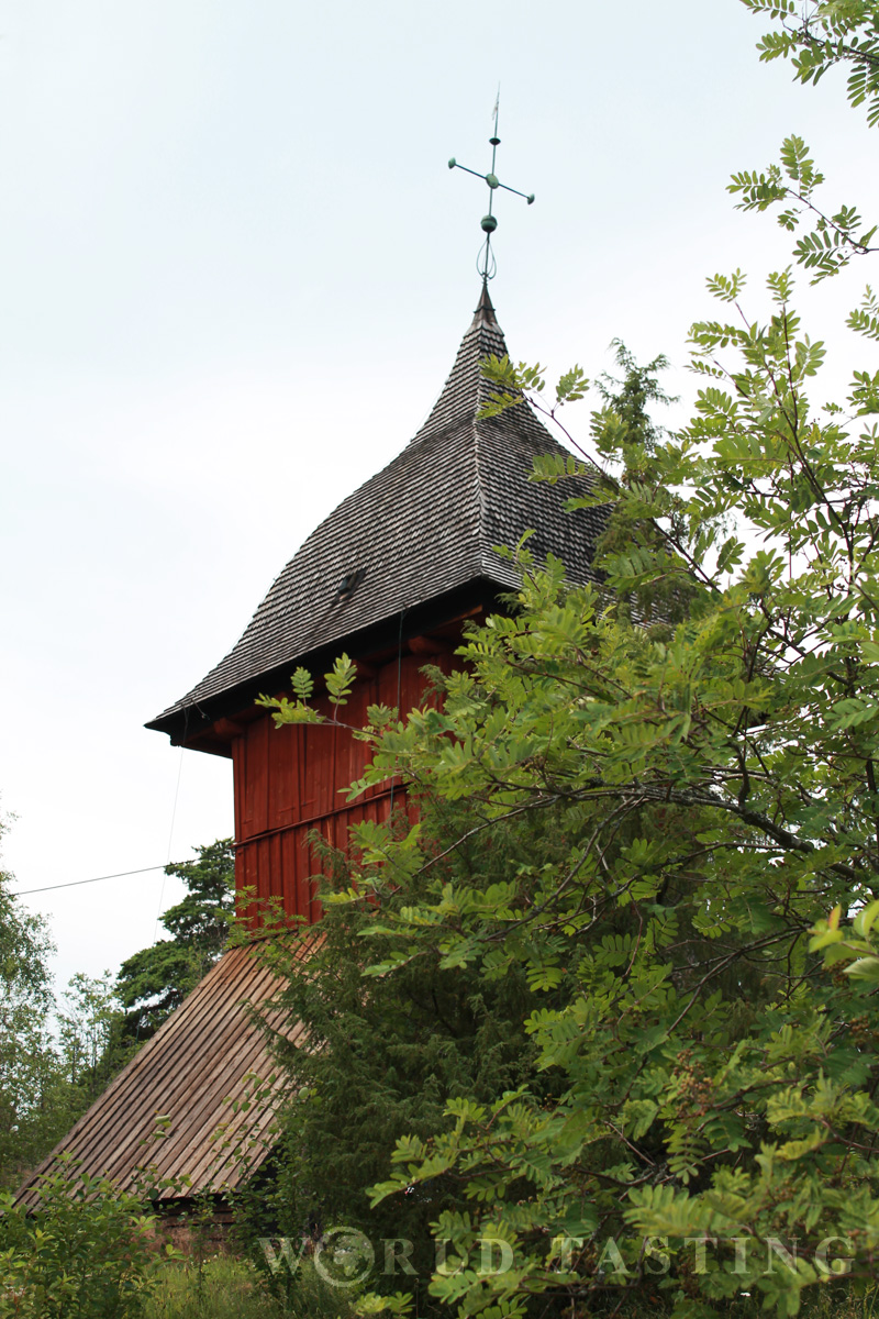 The belfry of Mariakyrkan