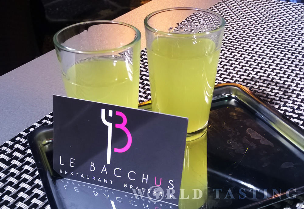 Le Bacchus restaurant Nice France