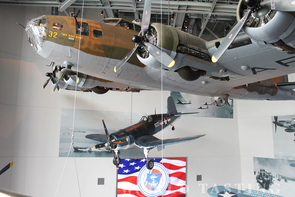 The National WWII Museum, New Orleans, Louisiana, NOLA