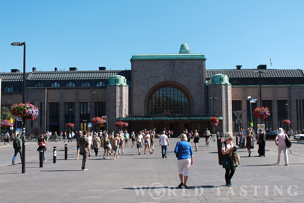 The train station, Helsinki, Finland