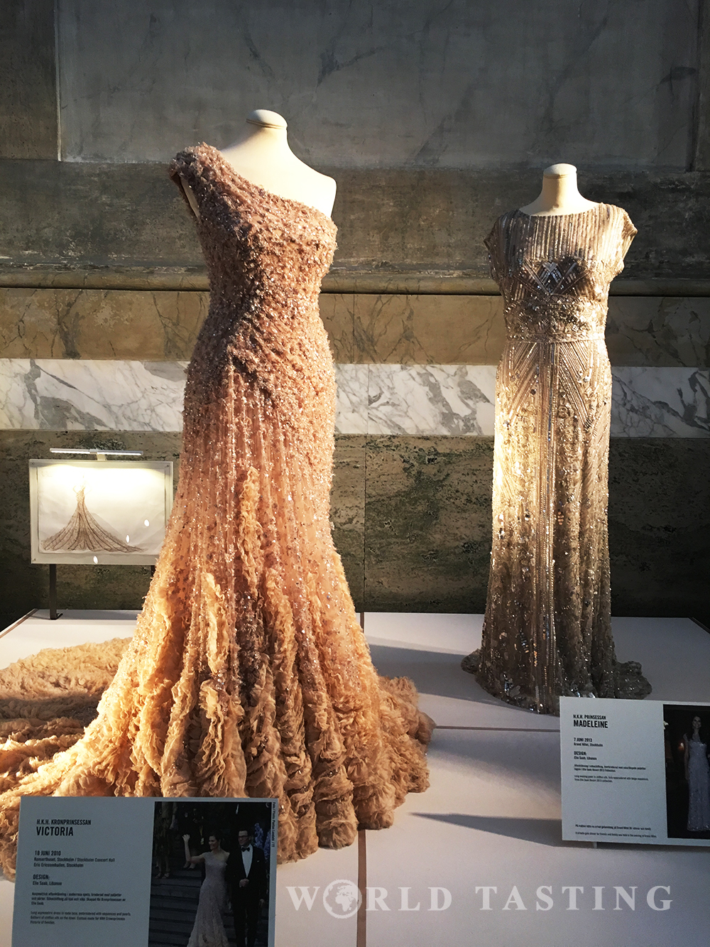 royal wedding dresses exhibition (kungliga brudklänningar) at the Royal Palace of Stockholm