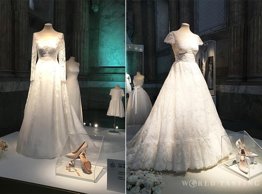 Royal Wedding Dresses Exhibition Kungliga Brudklänningar At The Palace Of Stockholm